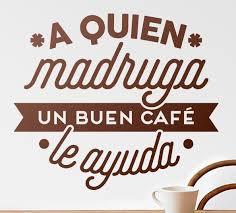 oraciones sobre cafe
